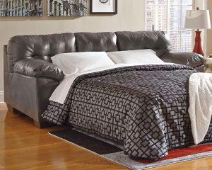 Ashley Furniture Signature Design - Alliston Contemporary Sleeper Sofa - Queen Size Mattress Included